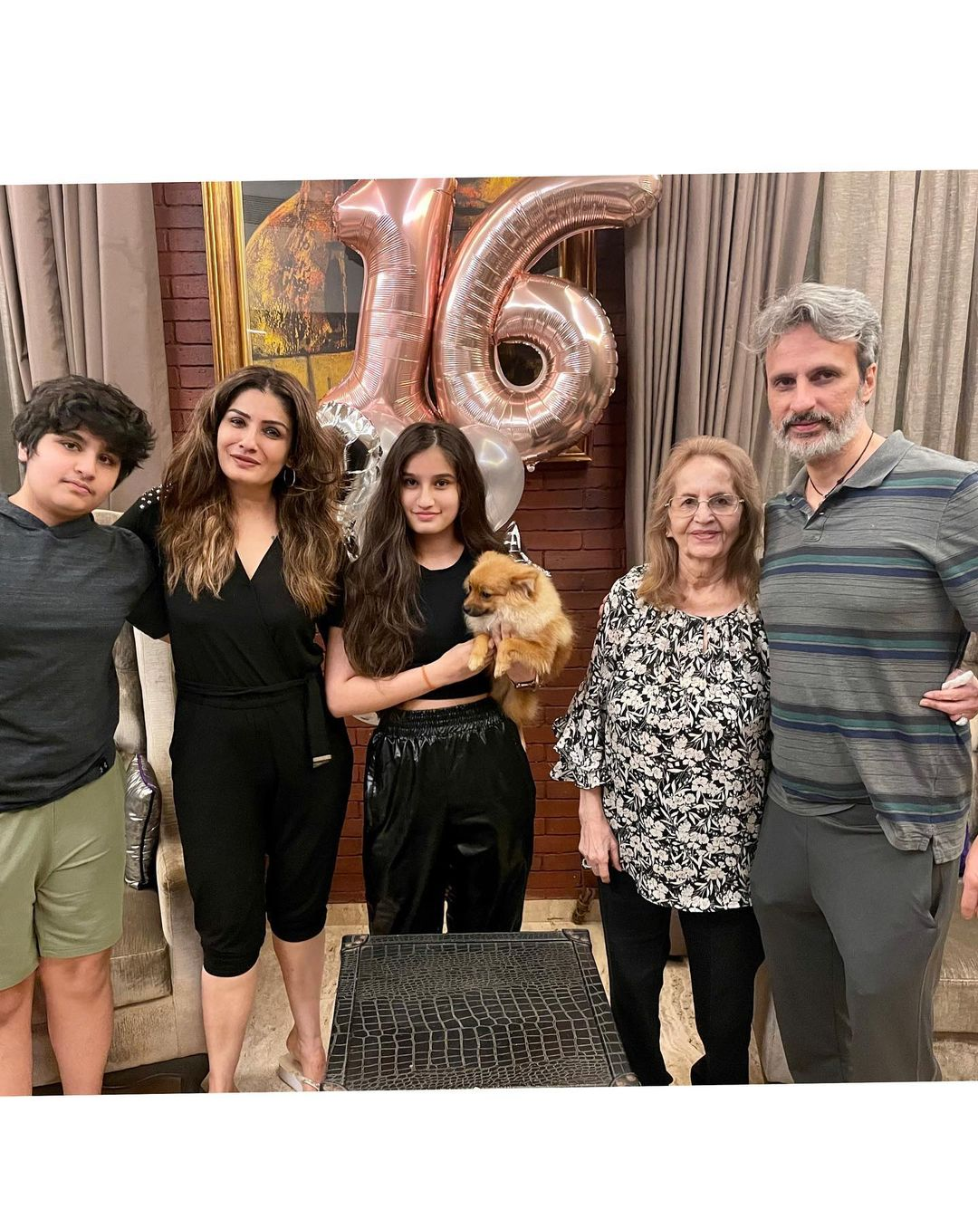 Raveena Tandon Daughter Rasha Birthday